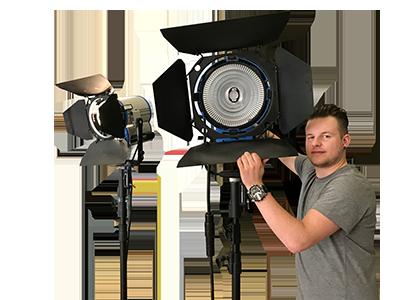 studie-training belichting cameracollege voor cameramensen